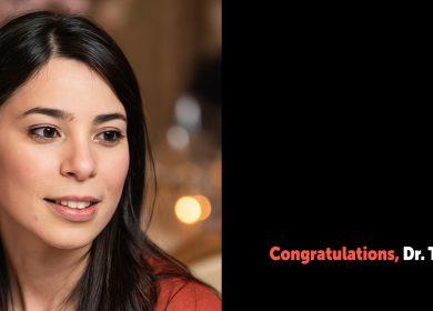 Congratulations – Dr. Turki !