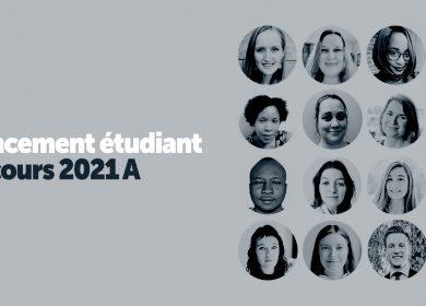 Concours 2021 A – Récipiendaires