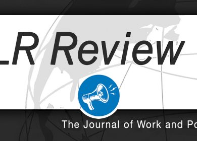 Call for papers – ILR Review – Extension